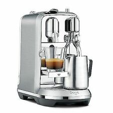 Nespresso Creatista plus BNE800 Coffee Machine Silver and Black