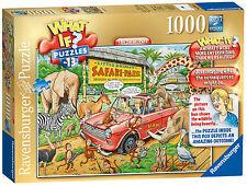 ¿ Qué sucedería si No. 13 el Parque Safari De 1000 Piezas Ravensburger Rompecabezas