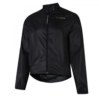 Dare2b Mens Affusion II Lightweight Waterproof Cycle Jacket Black S RRP £50