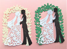 2 sets DIE - CUTS  WEDDING COUPLE -   CO02