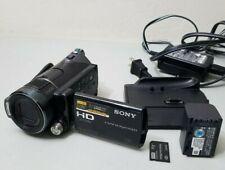 Sony Handycam HDR-CX12 Flash Media Digital Camcorder w/Cradle *GOOD/TESTED*