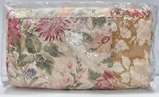 New Pottery Barn Carolina Floral Patchwork Reversible King~Cal. King Quilt