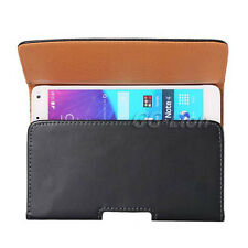 Samsung Galaxy Note 4 Duos SM-N9100 N910F N910G Leather Case Holster Belt Clip