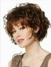 Wigs Fashion Sexy Women Short Curly Dark Brown Party Cosplay Synthetic Full Wig