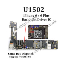 2 x U1502 - IPHONE 6 / 6+ / 6 PLUS BACKLIGHT IC CHIP - DIM / DARK SCREEN REPAIR