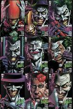 🔥🔥 Batman: Three Jokers #1,2 & 3 (Dc,2020) - Lot Of 9 Premium Covers Nm 🔥🔥