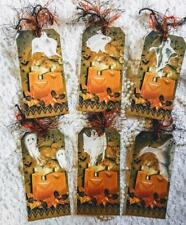 Halloween~Ghost's ~6 Hang Tags~Scrapbooking~Cards~#124~judysjemscrafts