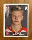 Panini 2019-20 2020 ERLING HAALAND Fussball Salzburg 32 GREY Sticker ROOKIE Card. rookie card picture