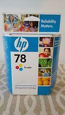 Sealed Genuine OEM HP 78 Tri-Color Ink Cartridge C6578DN Buy It Now !!!