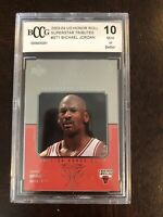 2003-04 UD Honor Roll Superstar Tributes ST1 Michael Jordan BCCG 10 SP BGS PSA