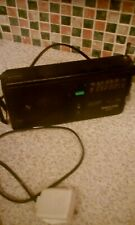 Vintage PHILIPS D2042-05 Slim Line 3 Band FM MW LW Radio with Power Adapter