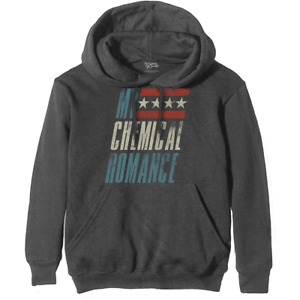 My Chemical Romance (Raceway) Unisex Pullover Hoodie 100% Official UK Seller