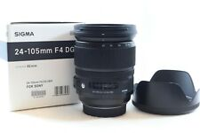 Sigma 24-105mm F4 DG HSM Lens for Sony A Mount Alpha Models -BB 615-