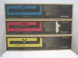 Original Kyocera Toner Set TK-8505 Yellow/Cyan/Magenta für TASKalfa 5551 ci