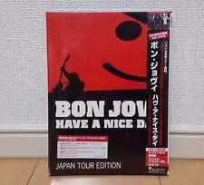 Bon Jovi Have A Nice Day JAPAN TOUR EDITION Japan UICL-9032 CD+DVD 2006 w/OBI