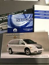 2007 CHRYSLER TOWN AND COUNTRY OWNER'S MANUAL [0203]
