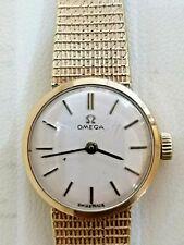 Vintage 1970's 9ct gold Ladies Omega Watch