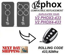 V2 Phox2 / V2 Phox4 compatible remote control transmitter replacement, clone