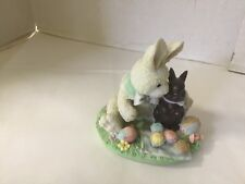 Cream and Cocoa You Are Such a Sweetie Bunny Chocolate Candy Easter Enesco