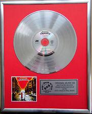 "SUPERMAX-World of Today CD/Cover encadrés +12"" DECO en OR DISQUE VINYLE"