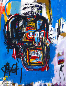 LIMITED EDITION JEAN MICHEL BASQUIAT UNTITLED 1982 GICLEE PRINT