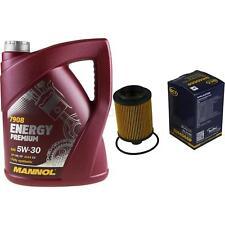 Ölwechsel Set 5L MANNOL Energy Premium 5W-30 + SCT Ölfilter Service 10164357