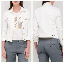Ropa de mujer de color principal blanco 100% algodón talla XS