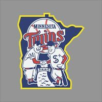 Minnesota Twins #8 MLB Team Logo Vinyl Decal Sticker Car Window Wall Cornhole