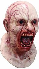 Halloween Costume DISEASED INFECTED ZOMBIE LATEX DELUXE MASK Haunted House NEW