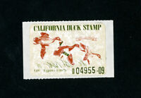 US Stamps # CA 7 XF OG NH California Duck Stamp Scott Value $40.00