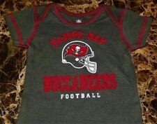 """""""NEW"""" Tampa Bay Buccaneers NFL ~ INFANT CREEPER BODYSUIT ~ Boy's Sz 18M Helmet"""