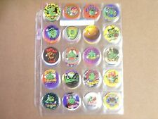POGS/MILKCAPS BAD BOY CLUB  COMPLETE SET OF ALL (54) IN POG PAGES AWESOME