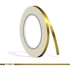 ZIERSTREIFEN 4mm GOLD METALLIC GLANZ 10m Auto GOLDEN Stripe Boot 0,4 cm Dekor