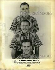 Press Photo The Kingston Trio musicians - syx03801