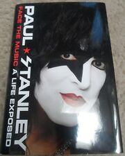 PAUL STANLEY  signed autographed book ( KISS) FACE THE MUSIC A LIFE EXPOSED