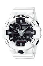 NEW Casio G-SHOCK GA700-7A Super Illuminator 3D Ana-Digital Men's Watch | WHITE