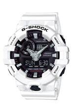 NEW Casio G-SHOCK GA700-7A Super Illuminator 3D Ana-Digital Men's Watch | WHITE