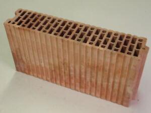 11,5er Unipor Blockziegel 8DF Zwischenwandplatte 49,7x11,5x23,8 Porotonsteine