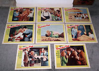 BACHELOR FLAT orig 1962 lobby card set movie posters TUESDAY WELD/TERRY-THOMAS