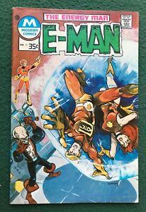 E-Man #9 Charleton Comics Bronze Age Joe Staton Energy Man MODERN Variant vg