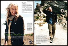 Daryl Hannah / Christian Slater 2-page clipping 2004 ad for Eddie Bauer