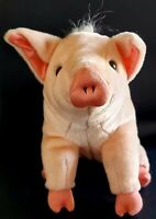 "Vintage TALKING BABE THE PIG 1995 Playskool 10"" 3 Phrases HELLO I'M A SHEEP PIG!"