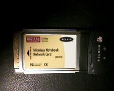 Belkin F5d7010 Wireless G 802.11G 2.4 Ghz Laptop Pcmcia Wifi Network Card