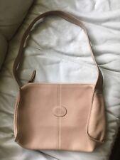 Vtg ETIENNE AIGNER Brown Tan LEATHER Handbag Shoulder Bag Tote Caryall Purse 0c02197f04