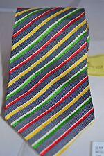 ETRO Designer Krawatte corbata TIE Tuch 60% Seide 40% Wolle NEU brand NEW