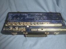 Gemeinhardt flute model M-2 - silver-plated - Plays - Should get servicing! NICE