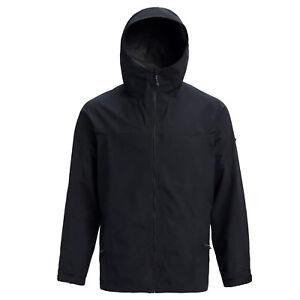 BURTON Mens 2018 - GORE-TEX Packrite Rain Jacket - Black