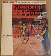 BLUEBERRY -2- / Tonnerre à l'ouest / EO Souple Française 1966 / TBE