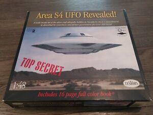 TESTORS AREA S4 UFO REVEALED MODEL KIT 1/48 SCALE
