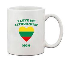 I love my LITHUANIAN Mom Ceramic Coffee Tea Mug Cup